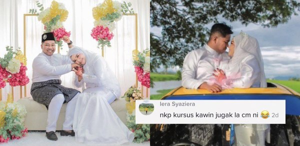 """""""Eh Terkahwin Pula"""" – Tak Sangka Temu Jodoh,  Asalnya Teman Member Pergi Kursus Kahwin Je"""