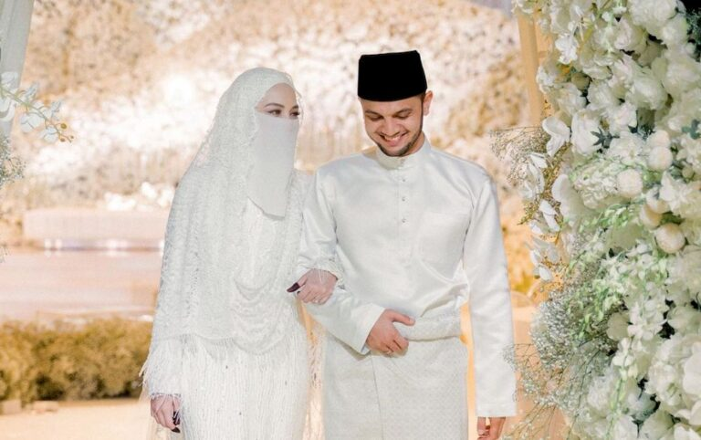 Report: Investigation paper on Neelofa and PU Riz's wedding reception back with DPP as cops await further orders