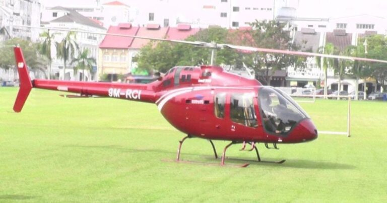 Civil Aviation Authority of Malaysia begins probe on helicopter picking up 'nasi ganja' order in Ipoh