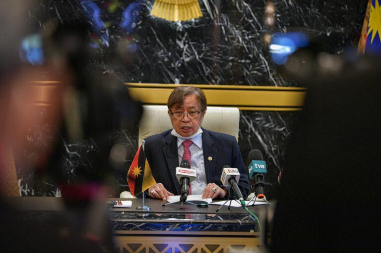 Sarawak CM backs Muhyiddin on using confidence vote to resolve Malaysia's political crisis
